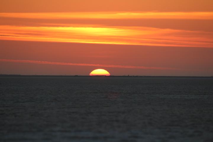 Sunset from White Desert Kutch
