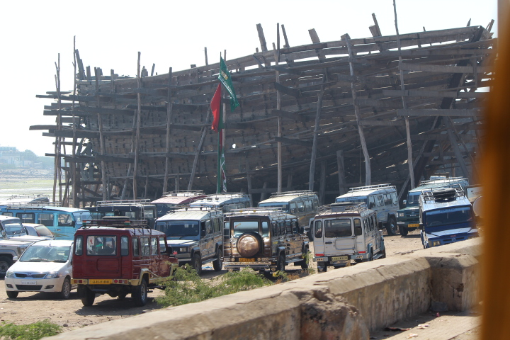 Shipbuilding Yard Mandvi