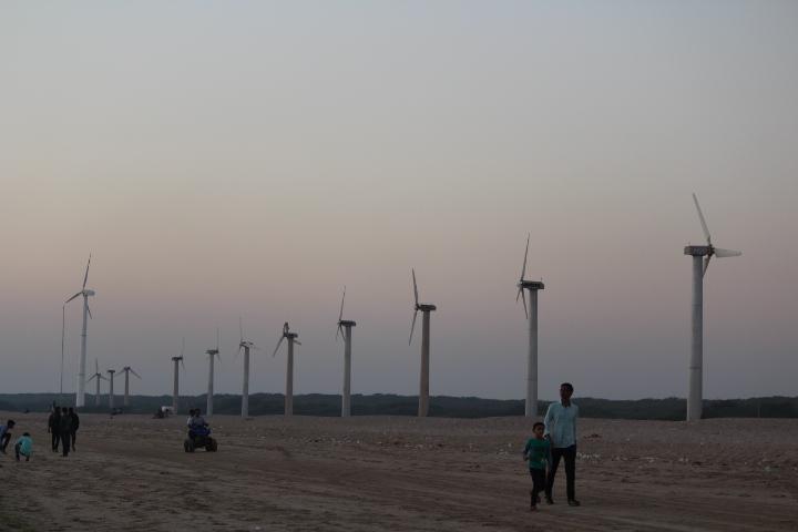 Windfarm beach - Mandvi