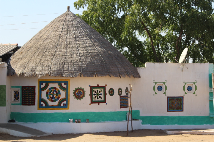 Bhunga Hut Kutch