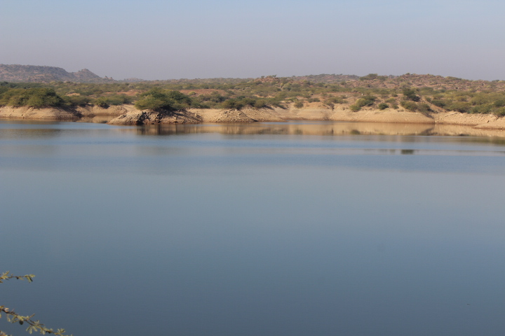 Waterbody near Bhuj