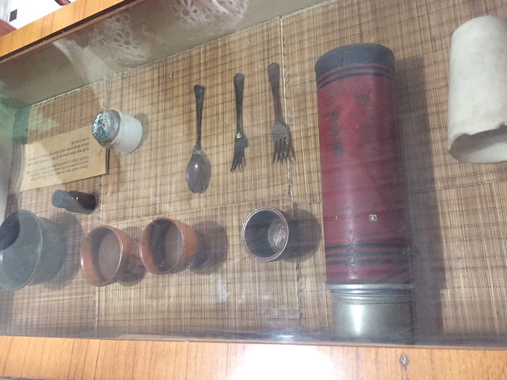 Item used by Mahatma Gandhi