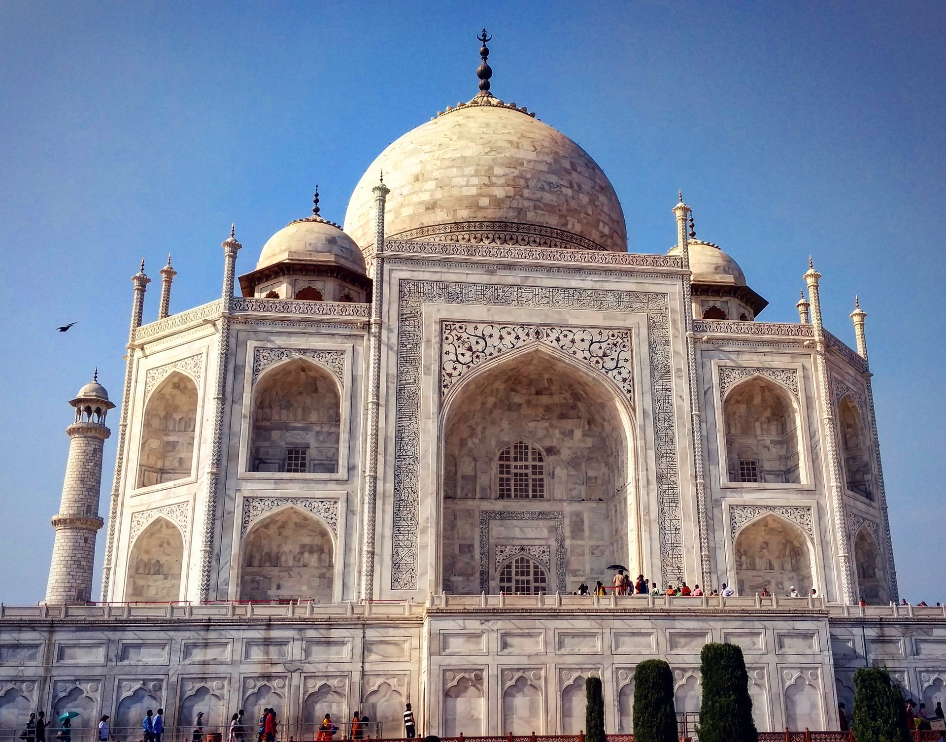 World Heritage site of India Tajmahal